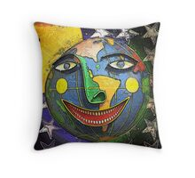 And Let the World be Peaceful and Happy!  Throw Pillow