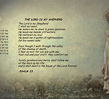 The Lord is my Shepherd by Marie Luise  Strohmenger