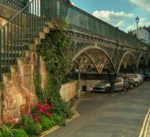 The Iron Bridge at Exeter  Sticker