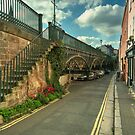 The Iron Bridge at Exeter  by Rob Hawkins