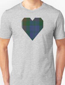 00415 Campbell Brown Clan/Family Tartan  Unisex T-Shirt