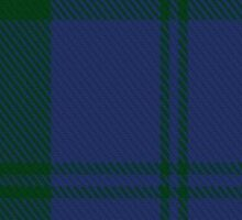 00415 Campbell Brown Clan/Family Tartan  Sticker