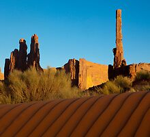 Totem Pole Monument Valley by Sam Tabone