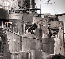 Cannons Of Battleship Texas by Diego  Re
