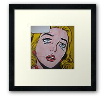 Cry 22 Framed Print