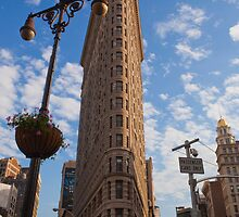 The Flat Iron Building by Sam Tabone