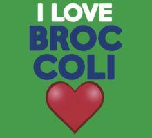 I love broccoli by onebaretree
