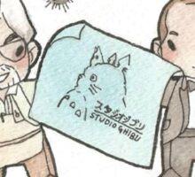 Studio Ghibli Legends.  Sticker