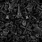 - Walking in Paris pattern 2 - by Losenko  Mila