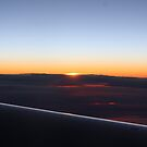 Dawn at 40,000 Feet by Ilene Clayton