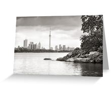 View from Humber Bay Greeting Card
