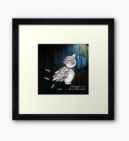 Stress Framed Print