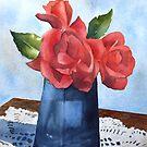 Valentine Roses by Bobbi Price