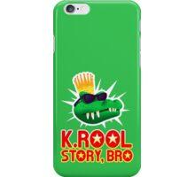 K.ROOL STORY BRO iPhone Case/Skin
