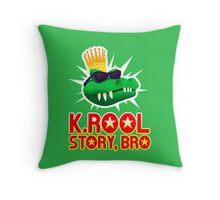 K.ROOL STORY BRO Throw Pillow