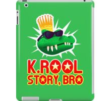 K.ROOL STORY BRO iPad Case/Skin