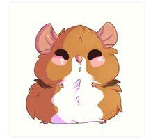 Hamster Everything Art Print