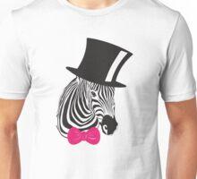 Fancy Zebra T-Shirt Unisex T-Shirt
