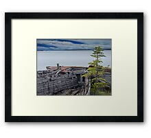 Shipwrecks at Neys Provincial Park Framed Print