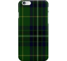 00417 Cornish Brewery, Green Tartan  iPhone Case/Skin