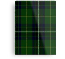 00417 Cornish Brewery, Green Tartan  Metal Print