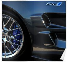 ZR1 Side Profile Detail Poster
