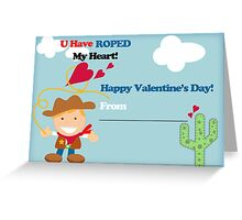 You have roped my heart Greeting Card