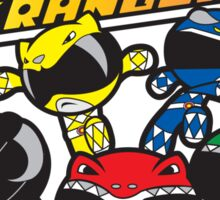 Power Rangers Sticker