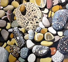 Still Life With Rocks by Richard Klekociuk