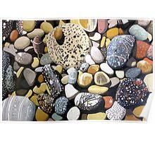 Still Life With Rocks Poster