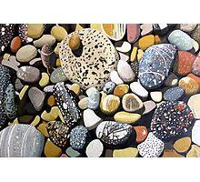 Still Life With Rocks Photographic Print