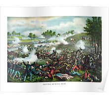 Battle Of Bull Run -- Civil War Poster
