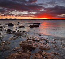 Dixons Beach Sunrise by Chris Cobern