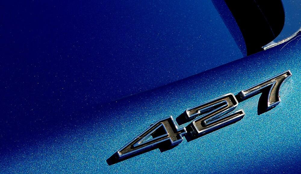 Corvette Hood Detail by Steve Mezardjian