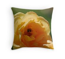 Sipping Nectar in the Shade Throw Pillow