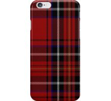 00418 Cornish Brewery Red Tartan  iPhone Case/Skin