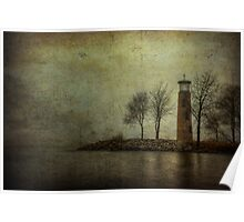 Asylum Point Lighthouse Poster
