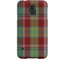 00419 Golden Broom Tartan  Samsung Galaxy Case/Skin