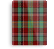 00419 Golden Broom Tartan  Metal Print
