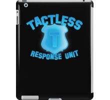 TACTLESS Response unit with shield badge iPad Case/Skin