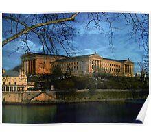 Philadelphia Art Museum along the Schuylkill Poster