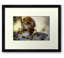 Angel - HDR Framed Print