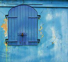 Shuttered Blue by Debbi Granruth