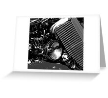 Ford Chrome Greeting Card