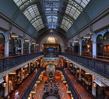 Queen Victoria Building, Sydney by Malcolm Katon