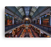 Queen Victoria Building, Sydney Canvas Print