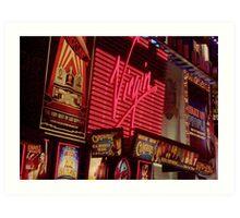 Times Square Night Art Print