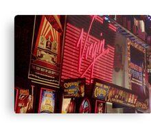 Times Square Night Metal Print