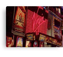 Times Square Night Canvas Print