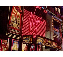 Times Square Night Photographic Print